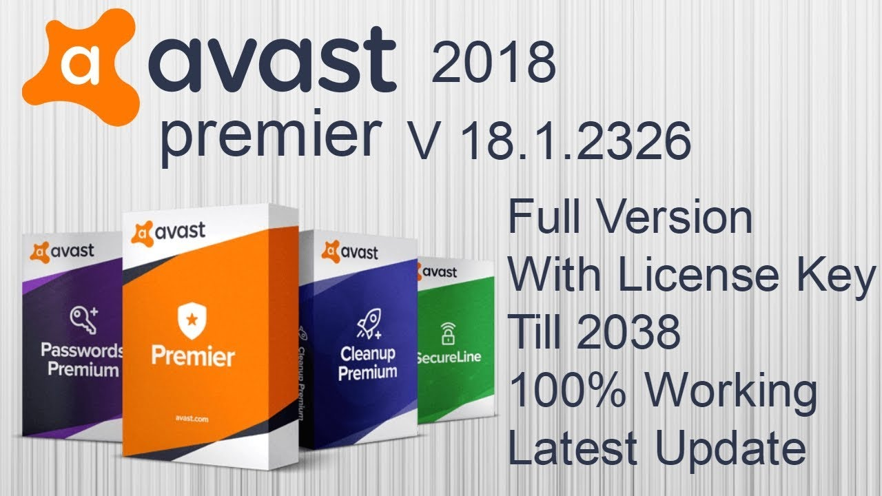 avast premier license key 2017 + cracked version