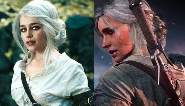 Emilia Clarke As Ciri From The Witcher 3 | Mother Of PhotoShop