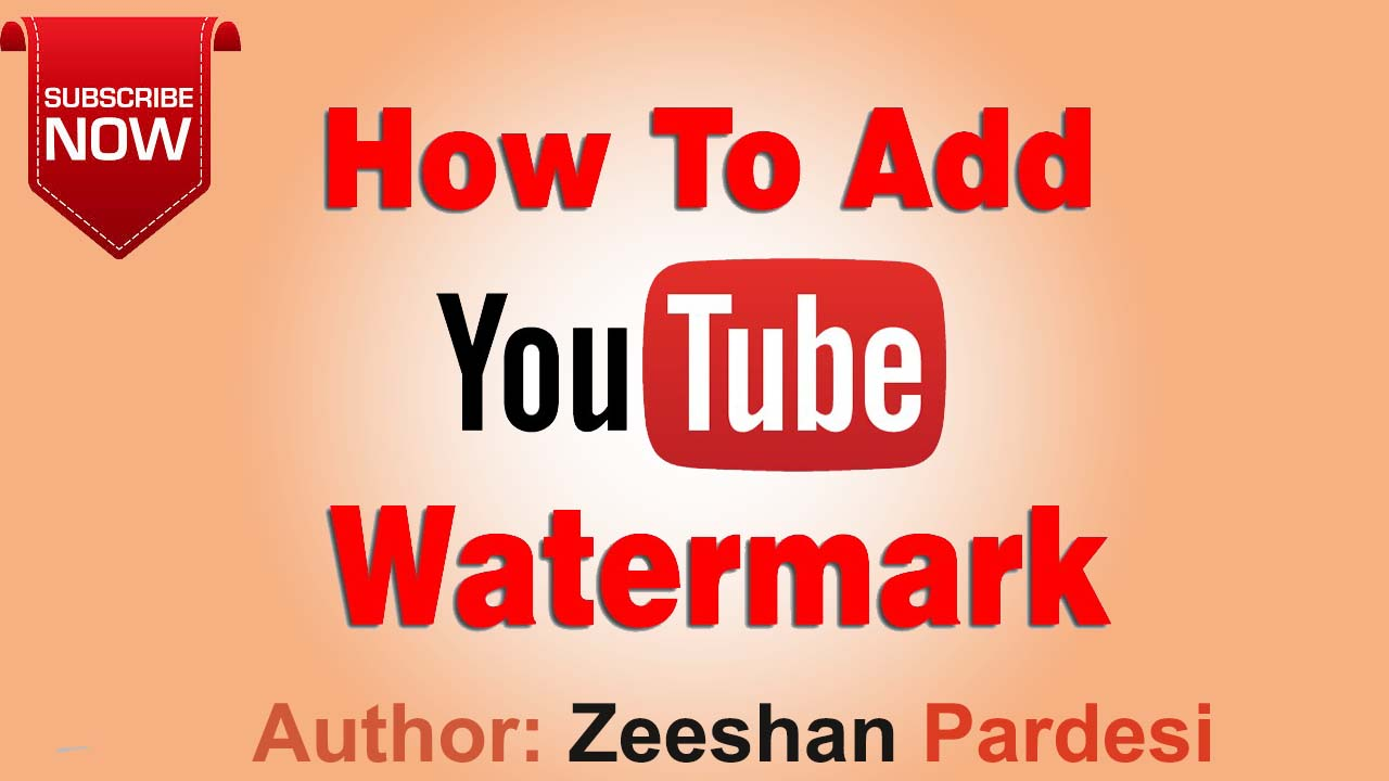 How To Add A Logo Watermark To ALL of your YouTube Videos | How To