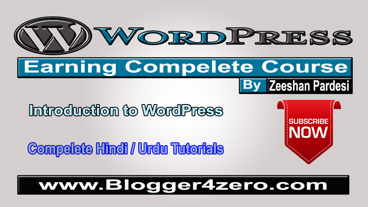 Introduction To WordPress | WordPress Earning Complete Course in Urdu Hindi