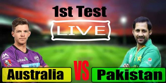 Pakistan vs Australia, 1st Test – Live Cricket Score, Commentary
