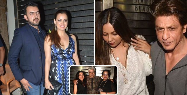 Popular Bollywood Biggies Mark Their Presence At Zoya Akhtar's Birthday Bash's Birthday Bash