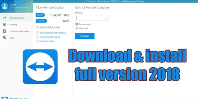 Download TeamViewer 2019 Latest Version