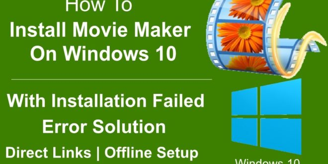 Windows Movie Maker 2019 Download